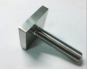 Nickel Cooper monel400 square bolt fastener uns n04400