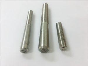 Bar pusingan No.101-317L, pengikat rod thread