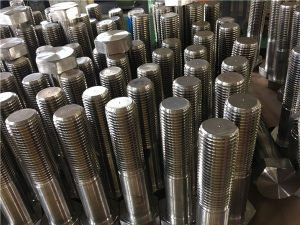 Bolt No.12-hex ISO4014 separuh benang A193 B8, B8M, B8T, B8C SS fastener