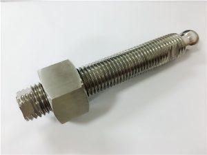 No.22-Custom CNC penggilingan keluli tahan karat bolt kepala bolt dan pengikat