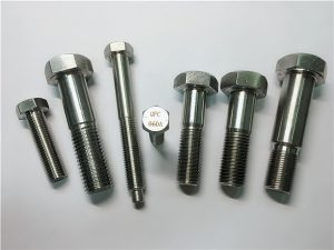 No.25-Incoloy a286 hex bolt 1.4980 a286 pengikat gh2132 stainless steel hardware machine screws fixings
