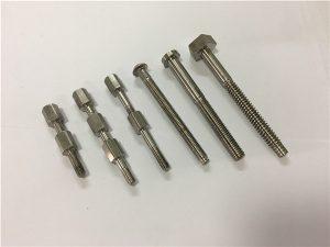 No.41-CNC titanium bahagian mesin dan kacang