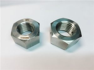 No.76 Duplex 2205 F53 1.4410 S32750 pengikat keluli tahan karat berat hex kacang