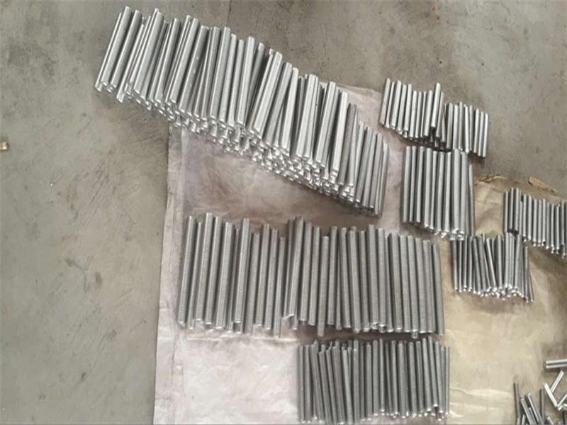 inconel 718 625 600 601 ketuk hex stud bolt dan pengikat kacang M6 M120