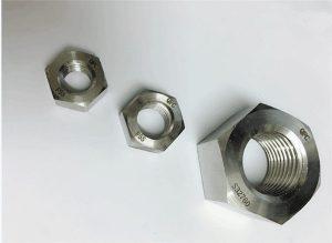 Duplex 2205 / F55 / 1.4501 / S32760 pengikat keluli tahan karat berat hex nut M20
